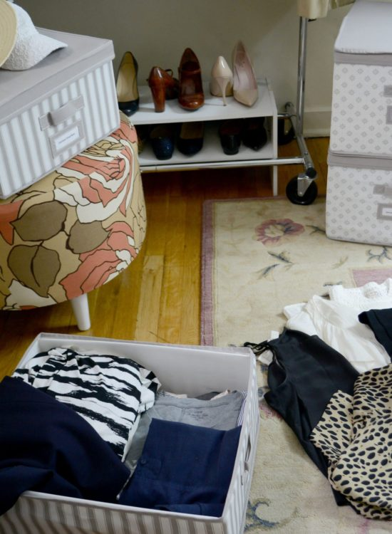 Wellesley & King | A neat and organized way to store your off season clothes. These boxes are great for small apartments. Click to find out more! | Closet Storage Solutions: How to Store Off-Season Clothes featured by top Pittsburgh fashion blog, Wellesley & King