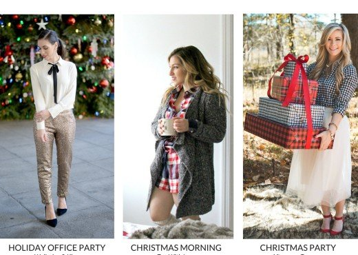 Holiday Outfits for every occasion | Wellesley & King blog