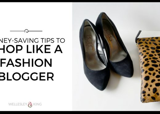 money saving tips smart shopping fashion blogger