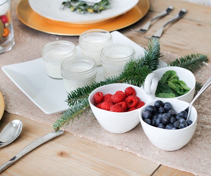 lemon creme fraiche berries | Lemon Creme Fraiche & Fresh Berries recipe featured by top Pittsburgh life and style blog, Wellesley & King