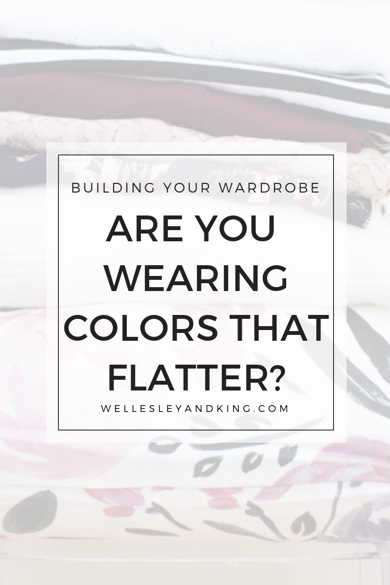 What colors look good on you featured by top Pittsburgh fashion blog, Wellesley & King