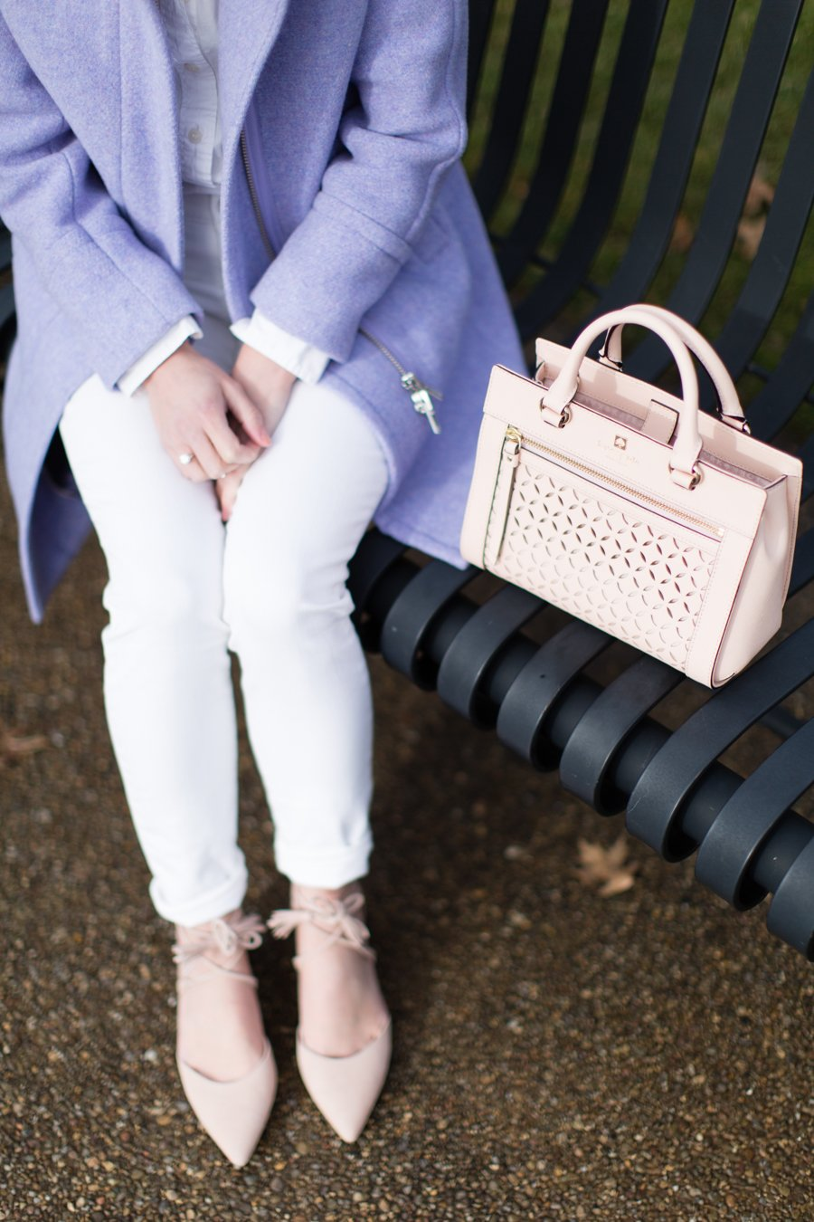 kate spade crossbody bag blush pink