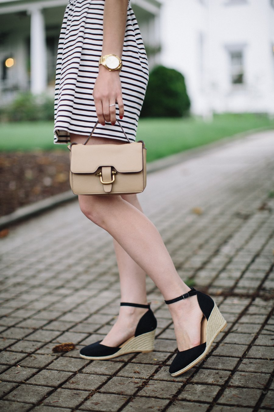 striped jcrew petite dress-wellesley and king-@wellesleynking