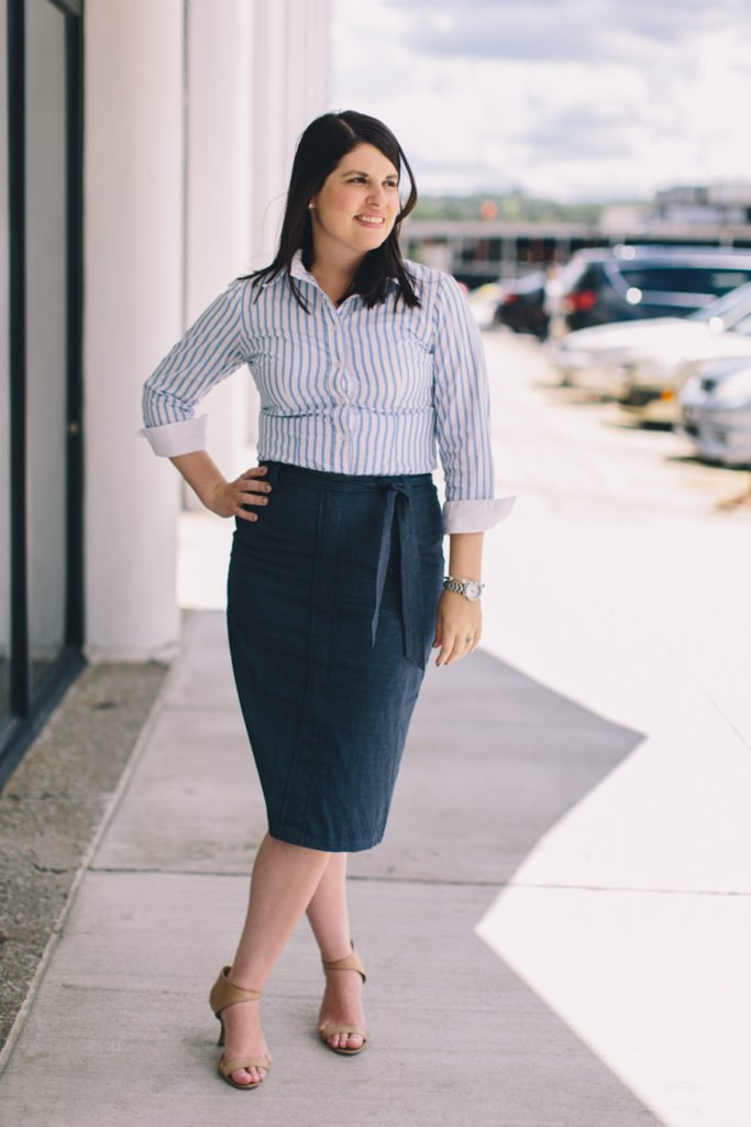 work outfit hourglass body shape-wellesley and king-@wellesleynking