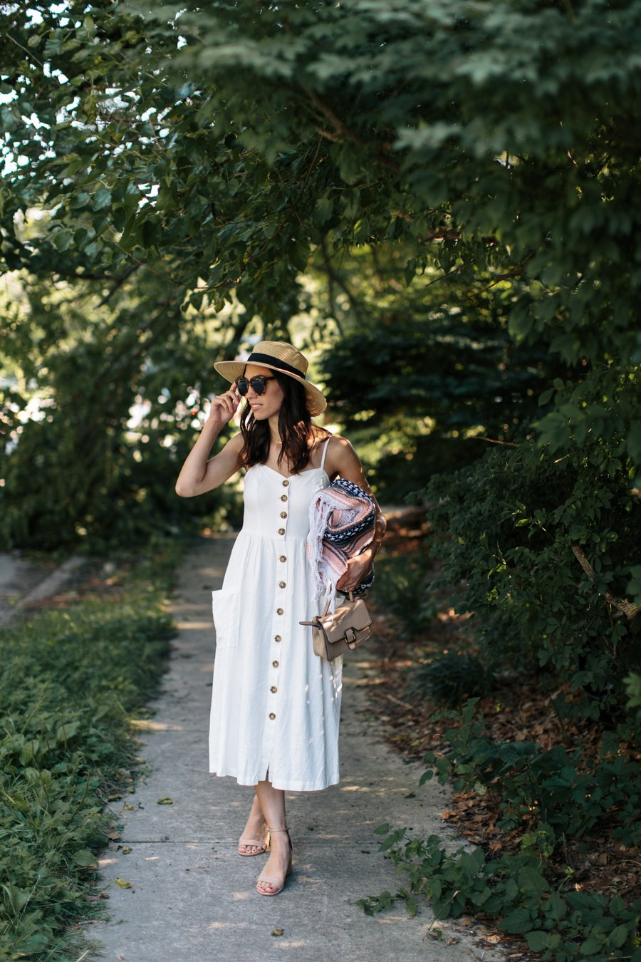 summer casual midi dress-wellesley and king-@wellesleynking
