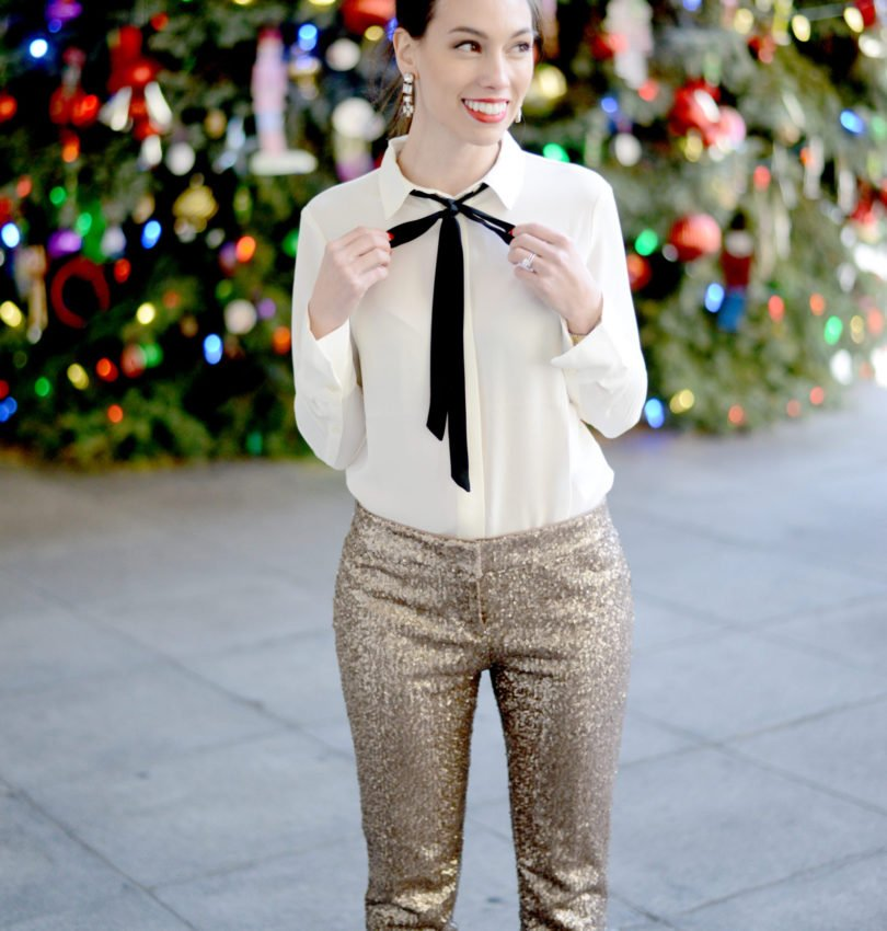 Top 4 Holiday Trends to wear year after year: sequins
