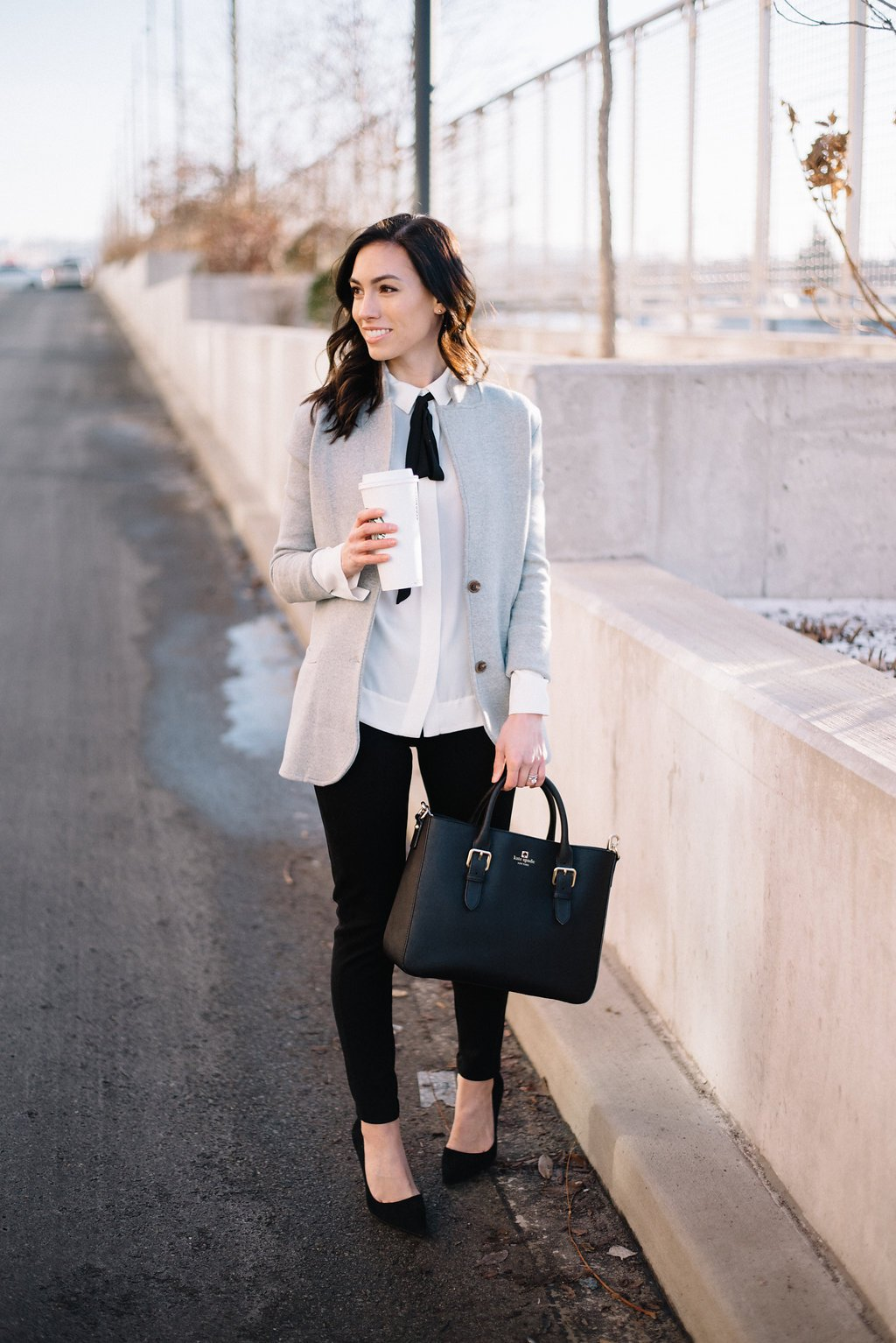3 Ways To Style A Sweater Blazer Fashion Wellesley Amp King