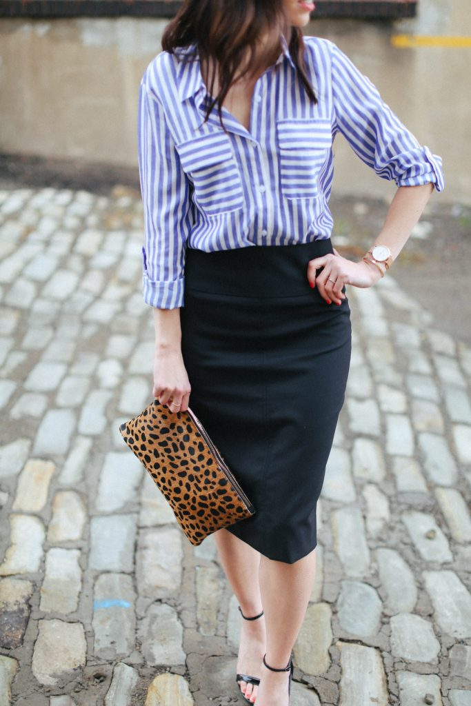wellesley and king-pittsburgh blogger-jcrew pencil skirt-7 - The 4 Best Classic Designer Handbags featured by top Pittsburgh fashion blog, Wellesley & King