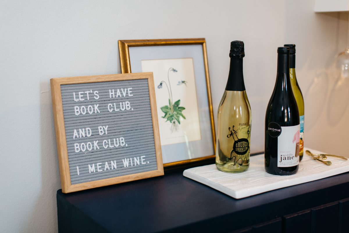 book club-girls night-wine night-cheese plate-easy entertaining