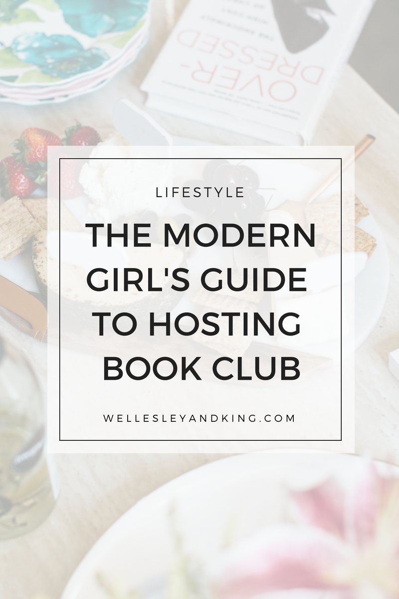 how to host a modern book club