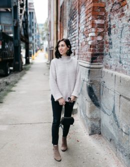 topshop sweater-wellesley and king-madewell maternity jeans-maternity fashion