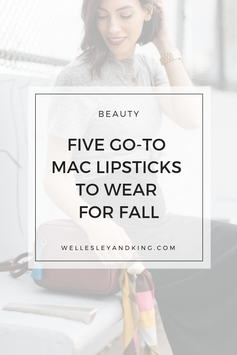 best mac fall lipsticks