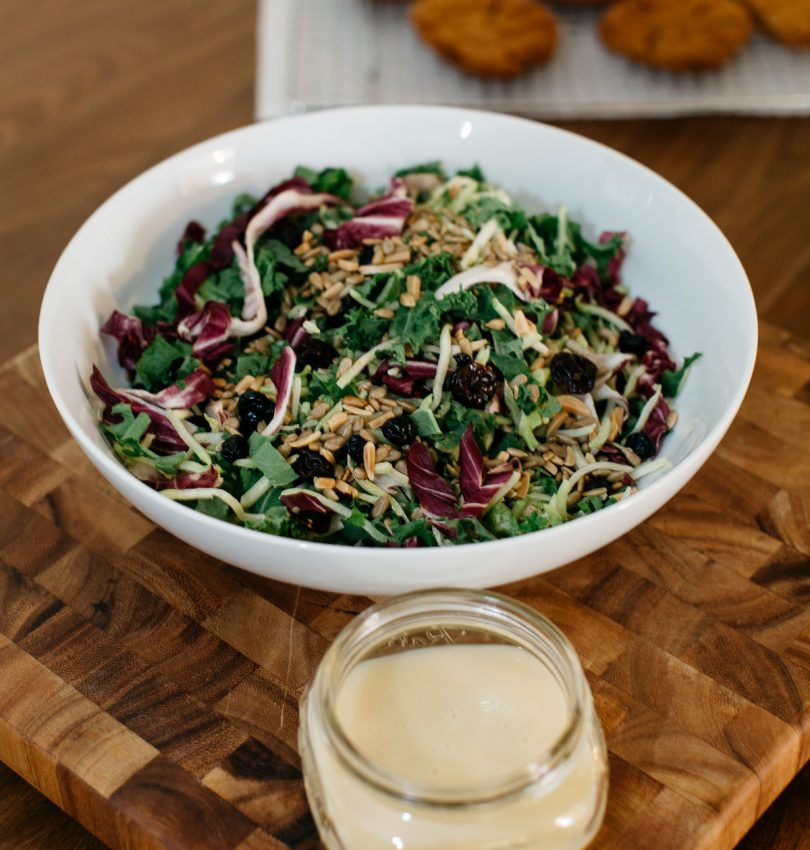 holiday kale salad