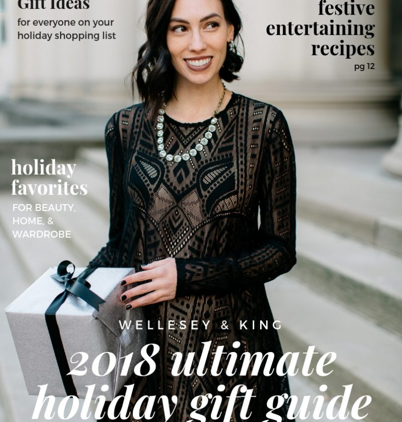 The Best holiday gift guide featured by top Pittsburgh life and style blog, Wellesley & King