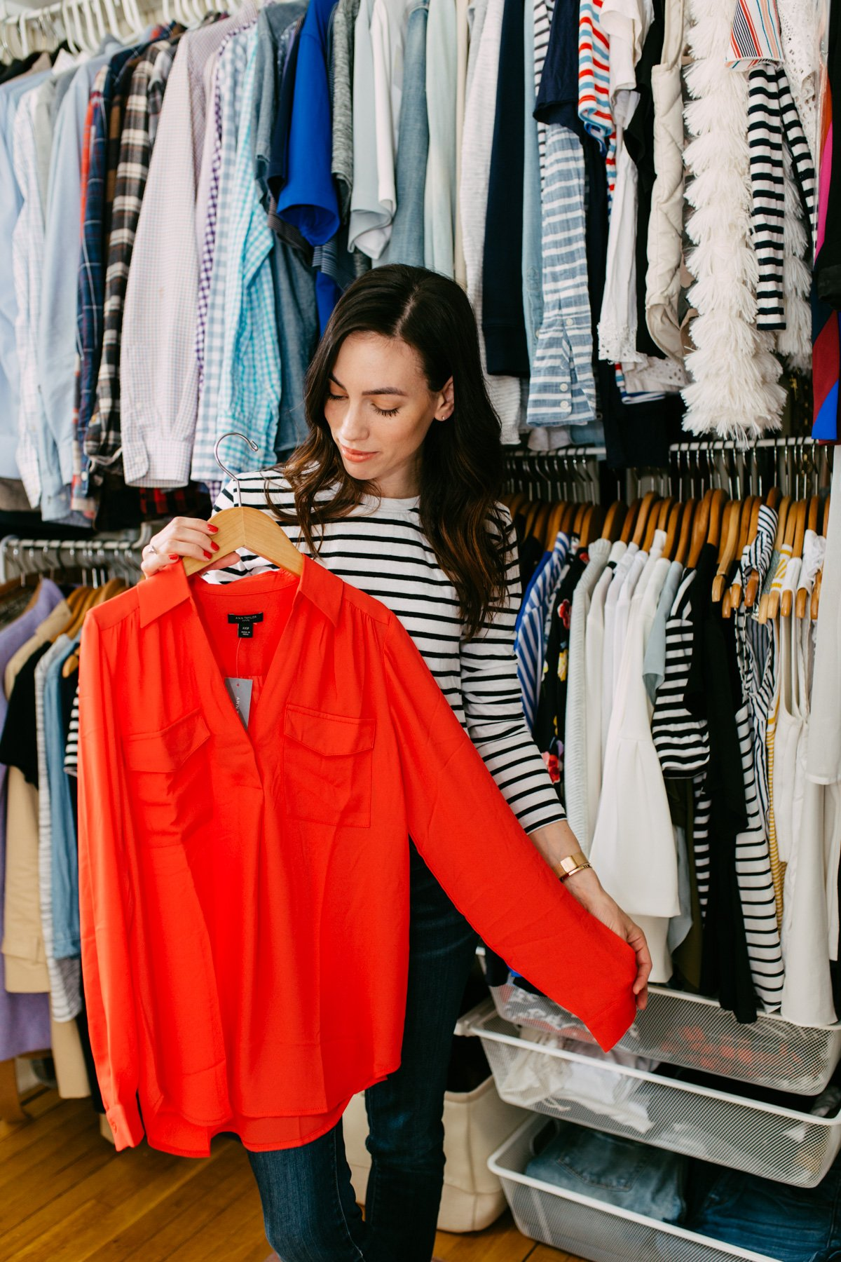 closet cleanout-wellesley and king-pittsburgh fashion blogger-@wellesleynking-22 | Postmark | How to Clean Out your Closet and Make Money featured by top Pittsburgh fashion blog Wellesley & King